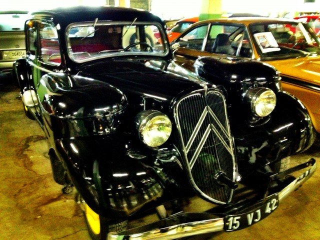 Early Traction Avant with coal fired fuel system
