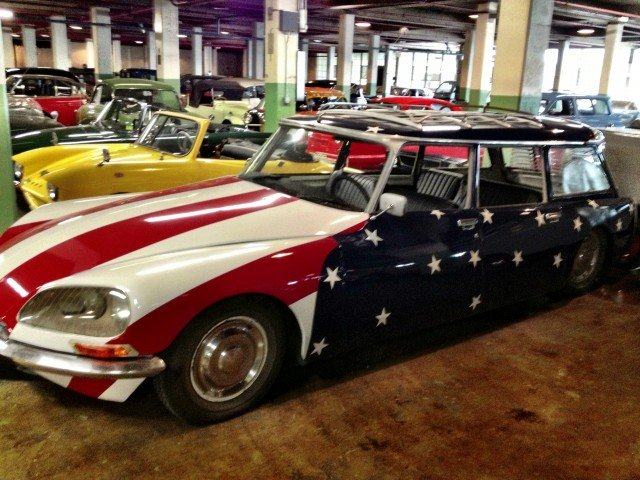 Stylish All-American Citroen DS Break at the Lane Museum