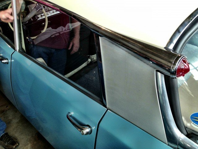 Early Citroen DS at the Lane Museum