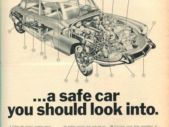 Great vintage Citroen DS ads and articles